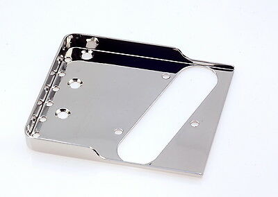 "Tele® Staggered Bridge 0.48"" Stainless Steel - Made in USA - B.Y.O.B Project"
