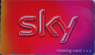 ACTIVATED SKY HD VIEWING CARD - UNLIMITED SKY & BT CHANNELS in HD - FREE POSTAGE