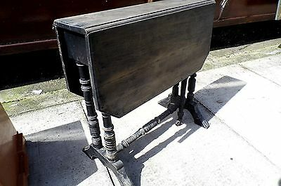 Victorian Sutherland Table small shabby chic 19th century antique