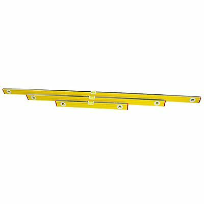 3pc Aluminium Scaffolding Level Spirit Levels Builders Level Set 2 - 6 Ft Berg