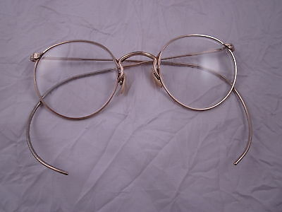 6315bf3b875 Antique Vintage AO Gold Filled Eyeglasses 1 10 12K GF Spectacles Mother of  Pearl