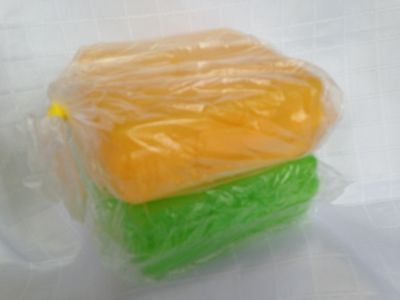 Tupperware Square Sandwich Keepers Set Of 2 Brand New