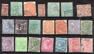 Australia QV Australian States unchecked collection JB16