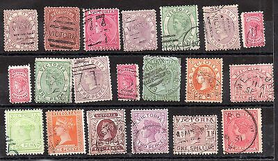 Australia QV Australian States unchecked collection JB21