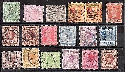Australia QV Australian States unchecked collection JB22