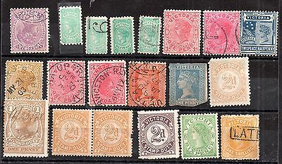 Australia QV Australian States unchecked collection JB28