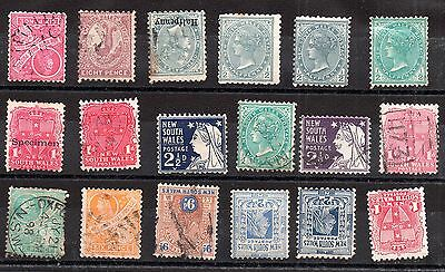 Australia QV Australian States unchecked collection JB7