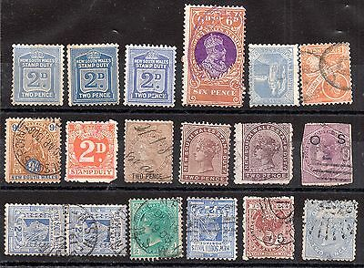 Australia QV Australian States unchecked collection JB9