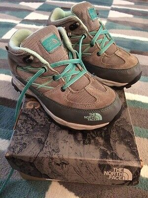 The North Face Girls Walking Shoes Size 13.5