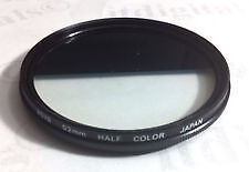 Hoya 52mm half color  filter with case   very good cond
