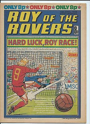 Roy of the Rovers Comic , 15th April  1978