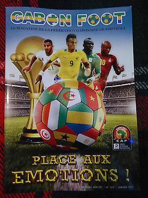Gabon FOOT 2017 CAN AFRICAN NATIONS PROGRAMME not official Afrika Cup Programm