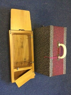 VINTAGE SINGER 3/4 SIZE SEWING MACHINE BOX/CASE WITH KEY FOR 99k ETC