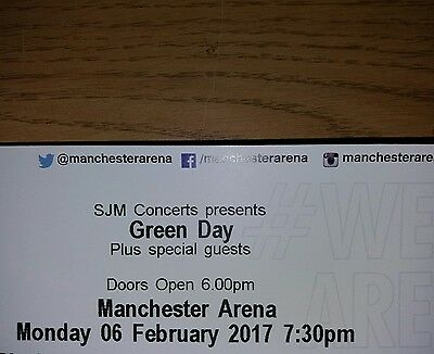 2 Green day tickets