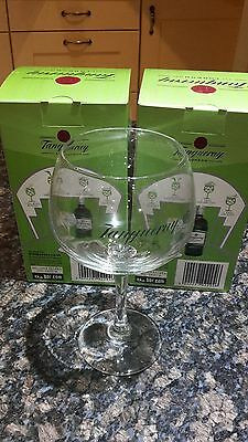 Pair Of Tanqueray Copa Gin Glasses Xmas Gift Special
