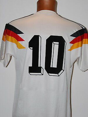 trikot deutschland matthaus shirt adidas vintage 1990 WORLD CUP no match worn