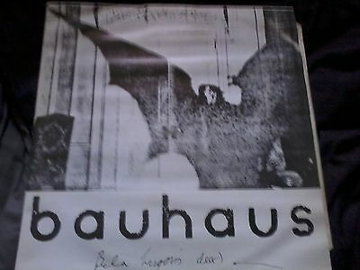 "BAUHAUS-Bela Lugosi's Dead 12"" Small Wonder Records"