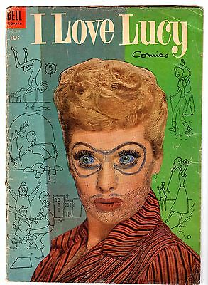 Four Color #559 Featuring I Love Lucy #2, Good Condition.