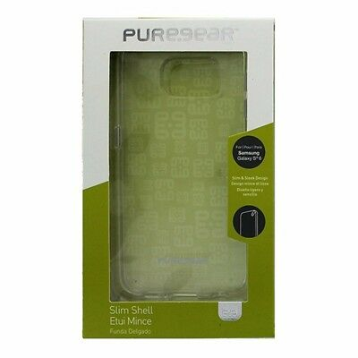 NEW PureGear Slim Shell Case for Samsung Galaxy S6 Clear