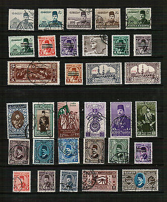 Egypt mixed selection of stamps