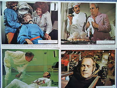 THEATRE OF BLOOD (1973) UK FOH Lobby Set *VINCENT PRICE, DIANA RIGG* HORROR