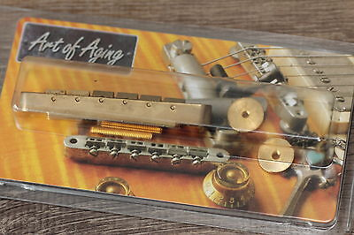 "Gibson Historic Collection Wired ABR-1 Bridge Gold ""Art of Aging"""