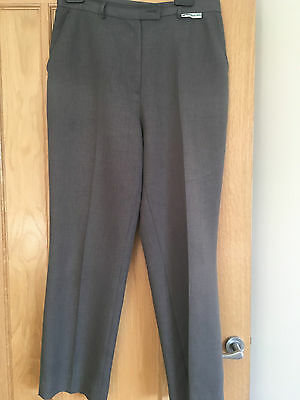 "EMSMORN BOWLS Ladies Grey Sports Trousers  Size 14/29"" VGC"