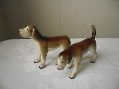 Two Vintage Midwinter Foxhounds