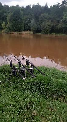 Carp Full set up All branded items no tat all purchases last year july time.
