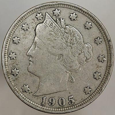 1905 Liberty V Nickel Fine FN