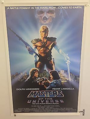 Masters Of The Universe Original 1987 One Sheet Movie Poster