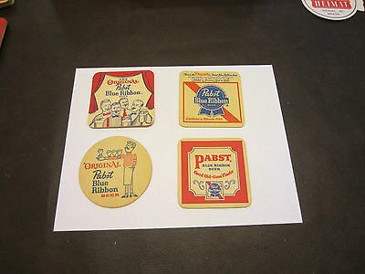 Beer  Coasters--Pabst  Brewing  Of  Milwaukee  Wisconsin