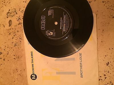 "Modern Talking - Brother Louie 7"" vinyl"