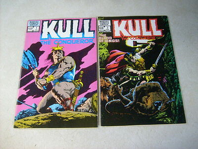 Kull The Conqueror #1,2 Full Set....1982, Buscema, Awesome