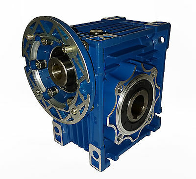 Worm right angle gearbox / speed reducer / size 40 / ratio 25:1 / 63B14