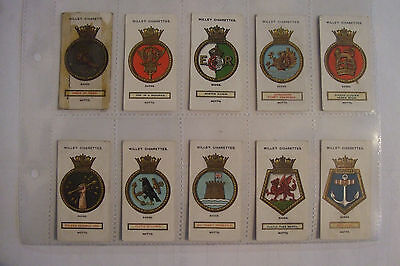 Wills Ships Badges a series of 50 1925