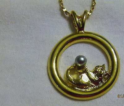 NEW OLD STOCK  Kitten Necklace