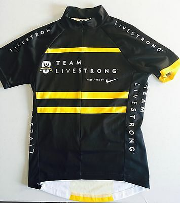 LIVESTRONG TEAM MAILLOT CYCLISME  NIKE - size S