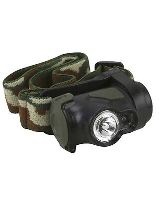 Military / ARMY STYLE PREDATOR CREW 3W HEADLAMP  Light Military Forces Camping