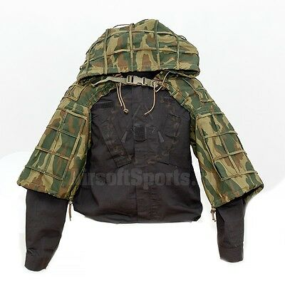 Russian Army SNIPER VIPER HOOD FLORA Military Ghillie FSB Special Forces