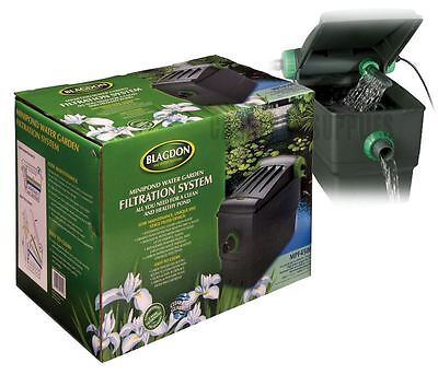 Blagdon Garden Mini Pond Water Cleaner Filter Filtration System 6000L