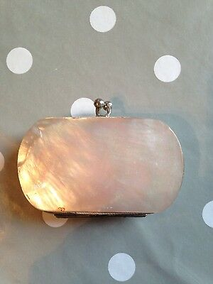 Edwardian Mother of pearl purse