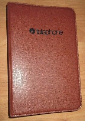 """Vintage Address /Telephone Multibinder Book  with Tabbed Alpha Pages 5"""" X 8"""""""