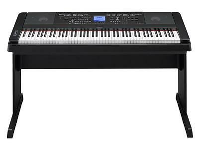 Yamaha Dgx660B Dgx 660 Nero/scuro Pianoforte Piano Digitale 88 Tasti Live