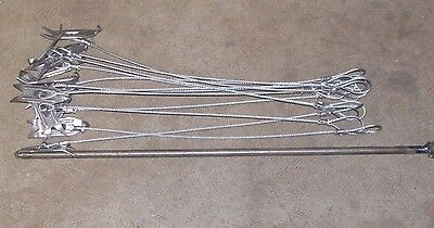 """18"""" Heavy duty Berkshire cabled stakes & Berkshire Driver (CHOOSE YOUR OPTIONS)"""