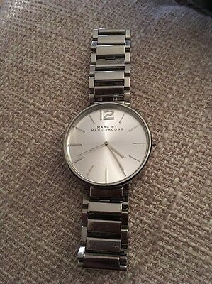 Marc Jacobs MBM3400 Women's Peggy Bracelet Strap Watch, Silver