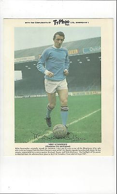 TyPhoo Tea Card Action - Mike Summerbee Manchester City