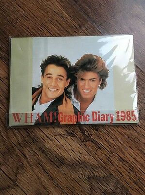 ❣MEGA RARE❣EPIC/SONY PROMO•Graphic Diary 1985~Wham! (George Michael)
