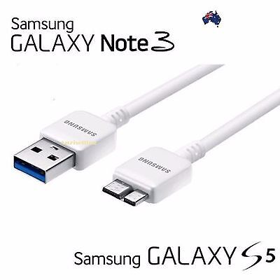 Genuine Samsung Galaxy S5 Note 3 Data Charger Sync USB 3.0 Cable Cord