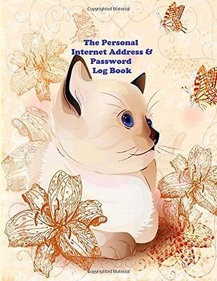 The Personal Internet Address and Password Log Book: A Large Print Web address &